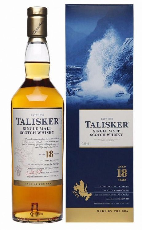 Since 1830 talisker has been the only distillery on the storm-battered shores of the isle of skye