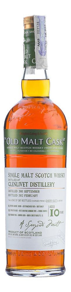 Glenlivet 10 YO, 2001, The Old Malt Cask, Douglas Laing - 2