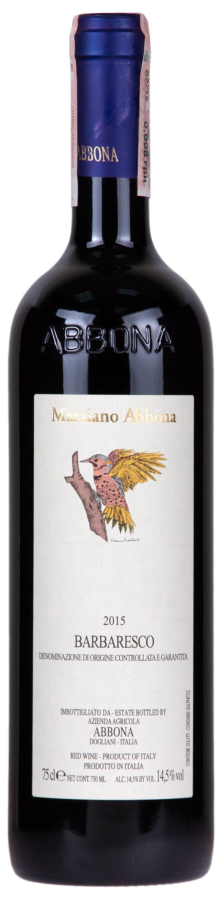 Вино Marziano Abbona Barbaresco 2015 (Марциано Аббона ...