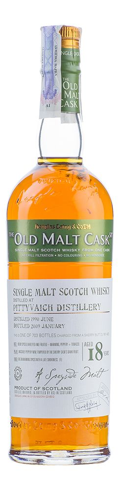 Pittyvaich 18 YO, 1990, The Old Malt Cask, Douglas Laing - 2