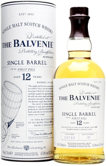 Balvenie Single Barrel Sherry Cask 12 YO