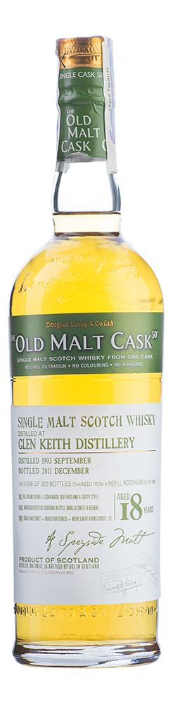 Glen Keith 18 YO, 1993, The Old Malt Cask, Douglas Laing - 2