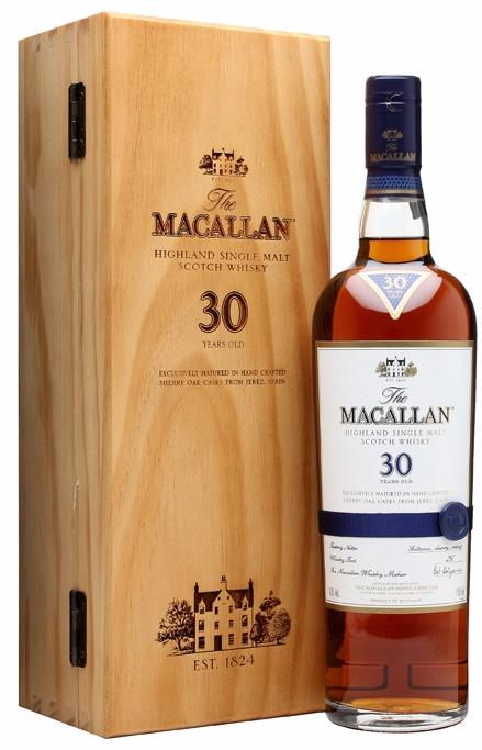 Macallan Sherry Oak 30 YO