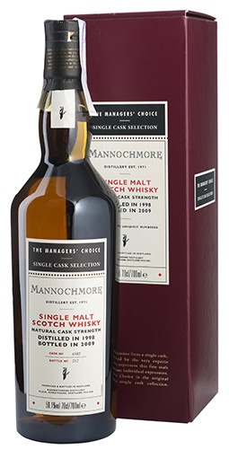 Mannochmore 10 YO 1998/2009 Managers Choice