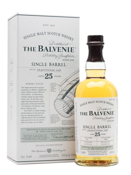 Balvenie Single Barrel Traditional Oak 25 YO