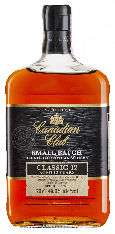 Canadian Club Classic 12 YO Set 6 bottles