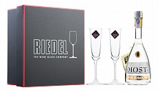 Граппа и мост Bepi Tosolini Most Uve Miste + 2 Riedel Crystal Glasses