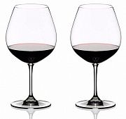 Riedel Vinum Pinot Noir (Burgundy Red) 700 ml Set of 2