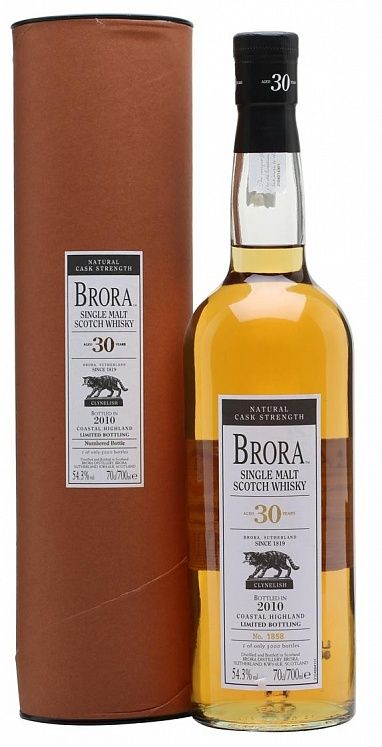 Brora 30YO 9th Release 2010