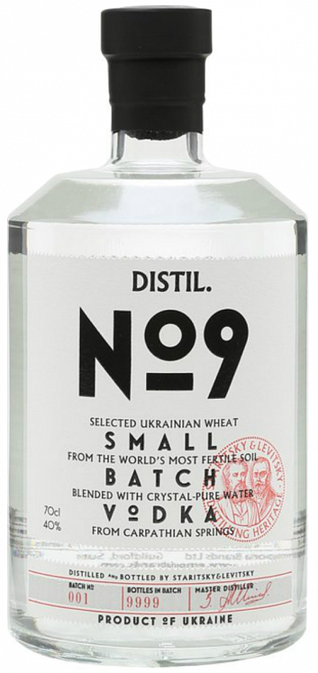 Staritsky & Levitsky Distil №9 Set 6 Bottles