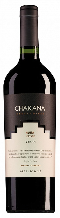 Chakana Nuna Estate Syrah 2016 Set 6 bottles