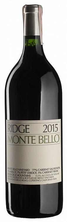 Ridge Vineyards California Monte Bello 2015 Magnum 1,5L