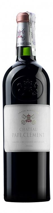 Chateau Pape Clement Rouge Grand Cru Classe 2004