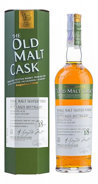 Pittyvaich 18 YO, 1990, The Old Malt Cask, Douglas Laing