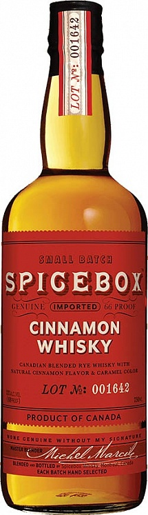Spicebox Cinnamon Spiced Whiksy Set 6 bottles