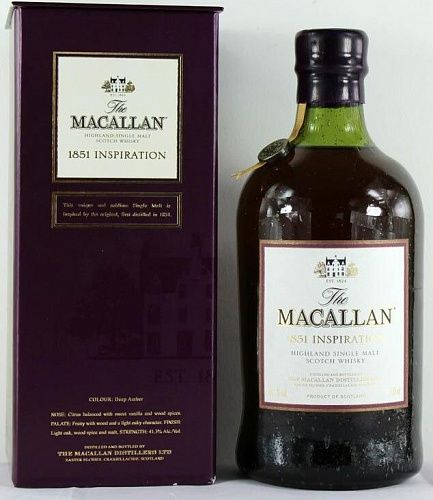Macallan 1851 Inspiration New Label