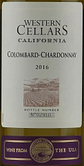 Вино Western Cellars Colombard-Chardonnay 2016 Set 6 Bottles