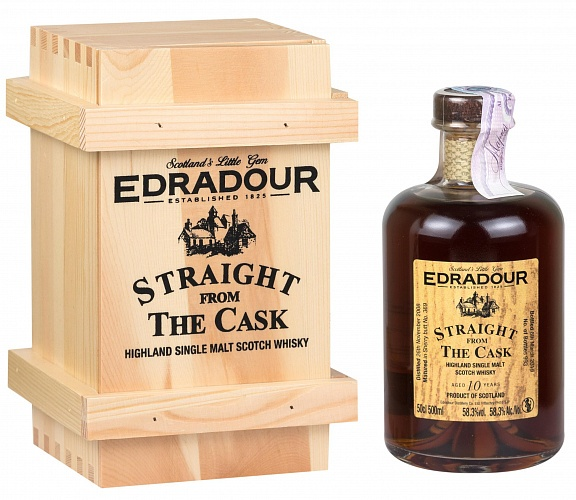 Edradour 10 YO 2008/2019 Straight From The Cask Sherry 500ml
