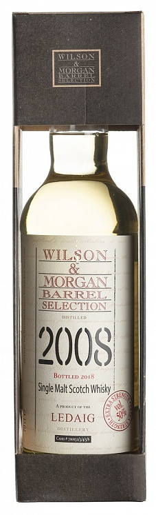 Ledaig 10 YO 2008/2018 Extra Strength Wilson & Morgan