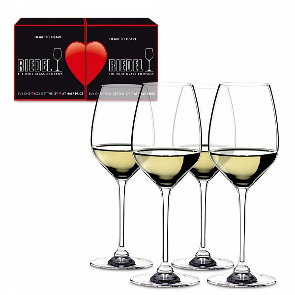 Riedel Heart To Heart Riesling/Sauvignon Blanc 460 ml Set of 4
