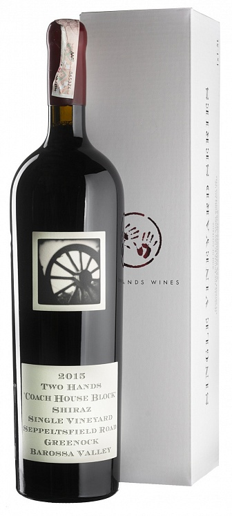 Two Hands Coach House Block Shiraz 2015 Magnum 1,5L