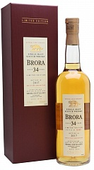 Виски Brora 34YO 16th Release 1982/2017