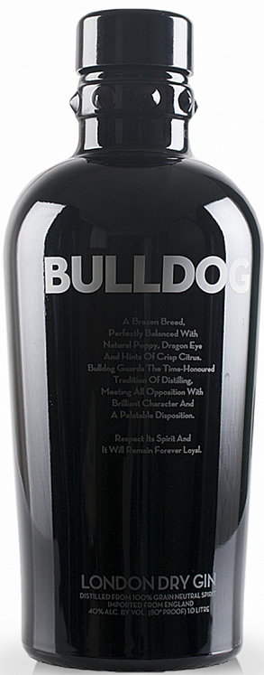 Bulldog London Dry Gin 1L Set 6 Bottles