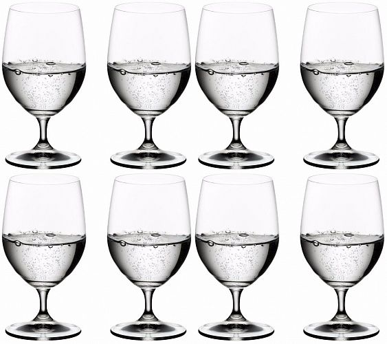 Riedel Vinum Water Glass 350ml Set of 8