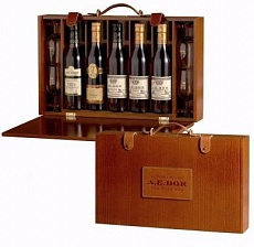 Коньяк A.E. Dor Coffret Week End Set Cognac 5x350ml