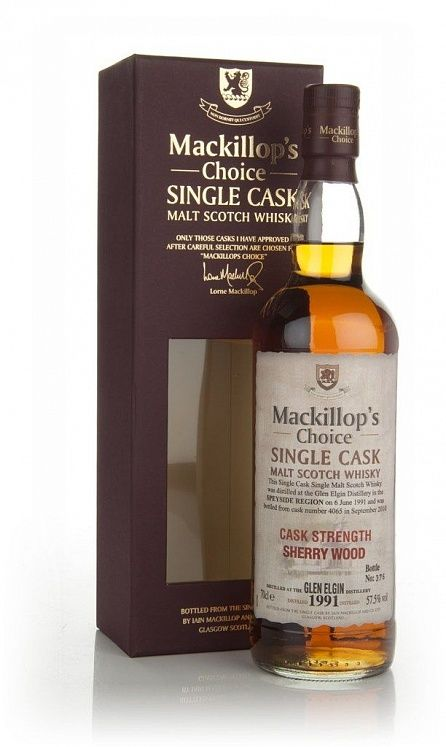 Glen Elgin 19 YO, 1991, Mackillop's Choice