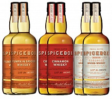 Виски Spicebox Pumpkin, Cinnamon, The Original Whiksy Set 6 bottles