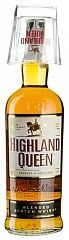 Highland Queen 1L + glass Set 6 Bottles