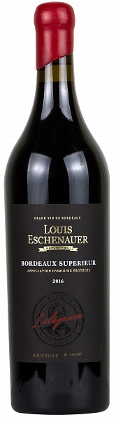Louis Eschenauer Bordeaux Superieur L'Elegance 2016 Set 6 Bottles