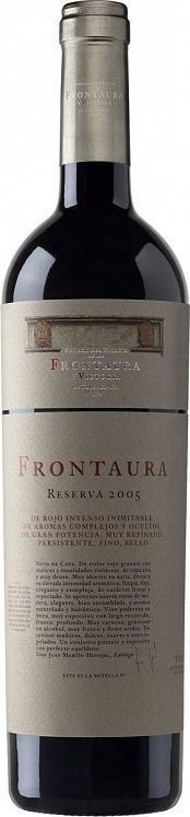 Bodegas Nexus & Frontaura Reserva DO 2005