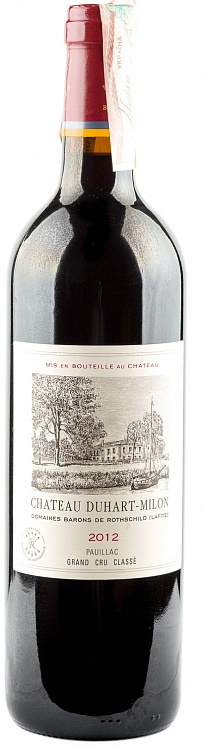 Chateau Duhart-Milon 4th Grand Cru Classe Pauillac Lafite Rothschild 2012