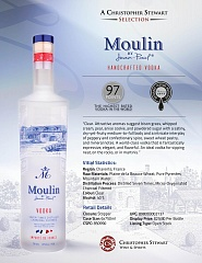 Водка Moulin Vodka 1L Set 6 bottles