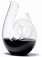 Стекло Riedel Decanter Curly Clear 1,4L