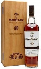 Macallan Sherry Oak 40 YO 2016 Release