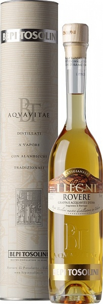 Bepi Tosolini Acquavite Aged in Oak Barrels Rovere