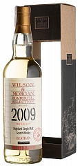 Виски Beathan 9 YO 2009/2018 Heavy Peat 2nd Batch Wilson & Morgan