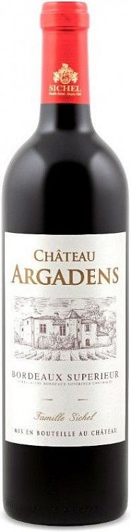 Chateau Argadens Bordeaux Superieur 2014 Set 6 Bottles