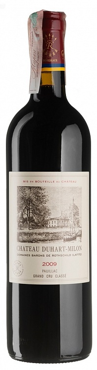 Chateau Duhart-Milon 4th Grand Cru Classe Pauillac Lafite Rothschild 2009