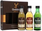 Glenfiddich Gift set with 3 bottles (12 YO, 15 YO, 18 YO) 3x50 Ml