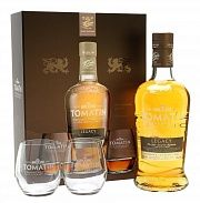 Tomatin Legacy Twin Pack Gift 2 Glasses