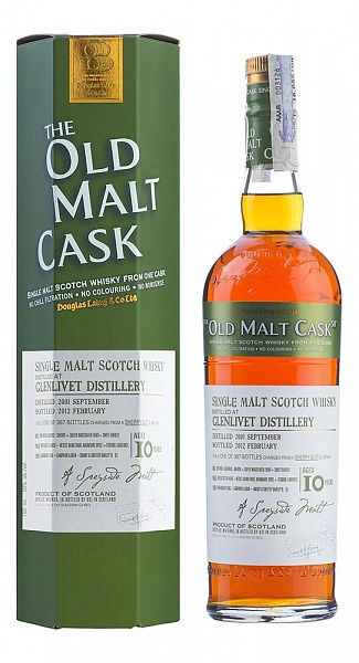 Glenlivet 10 YO, 2001, The Old Malt Cask, Douglas Laing