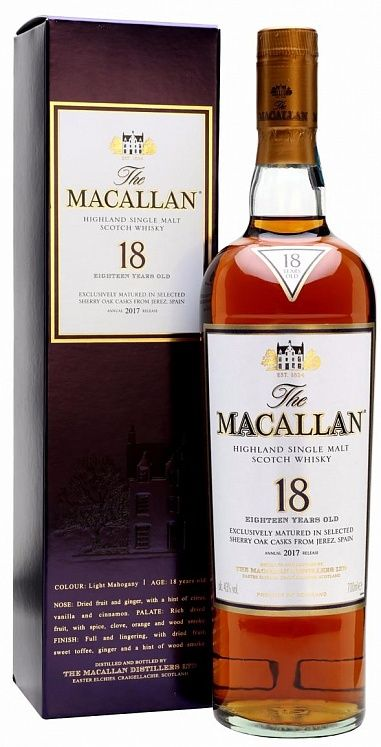 Macallan 18 YO Sherry Oak 1999/2017