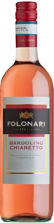 Folonari Bardolino Chiaretto Rose 2019 Set 6 bottles