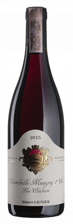 Hubert Lignier Chambolle-Musigny Premier Cru Les Chabiots 2015
