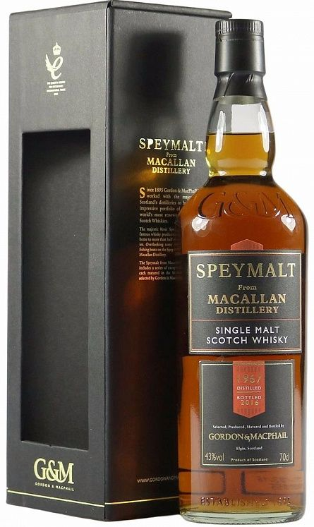 Speymalt from Macallan 49YO, 1967, Gordon & MacPhail