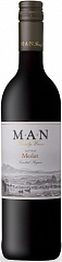 Вино MAN Merlot Jan Fiskaal 2017 Set 6 bottles